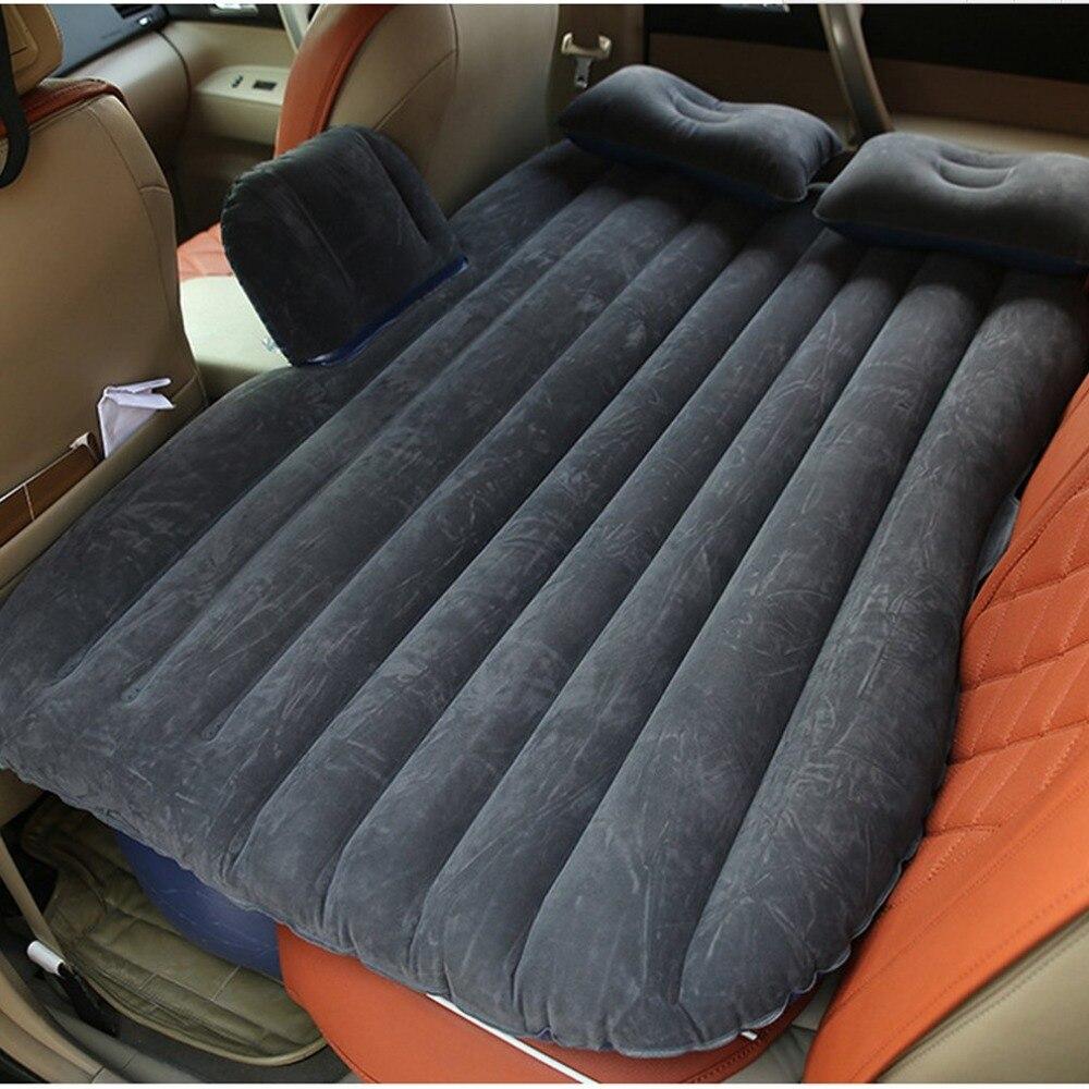 Große Größe Durable Auto Zurück Sitz Abdeckung Auto Luft Matratze Reise Bett Feuchtigkeit-beweis Aufblasbare Matratze Air Bett für auto Innen