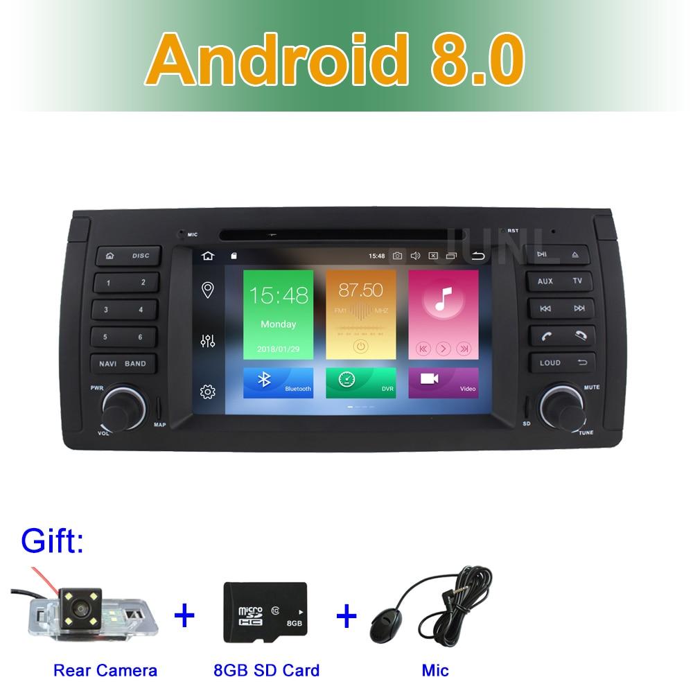 8 core Android 8.0 Car DVD Multimedia Player per BMW E39 E53 Con BT Wifi Radio Stereo di GPS di Navigazione