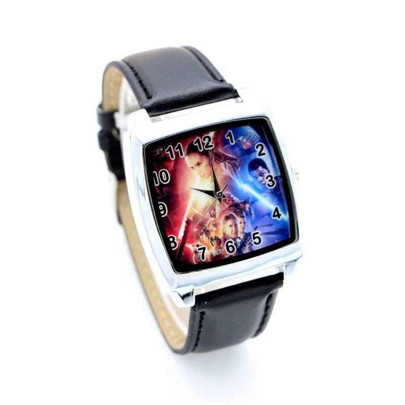 Star War Cartoon Kids Lady Children Wristwatch Fashion Casual Digital Style Quartz Leather Watches For Boy And Girl Relojes 1pcs