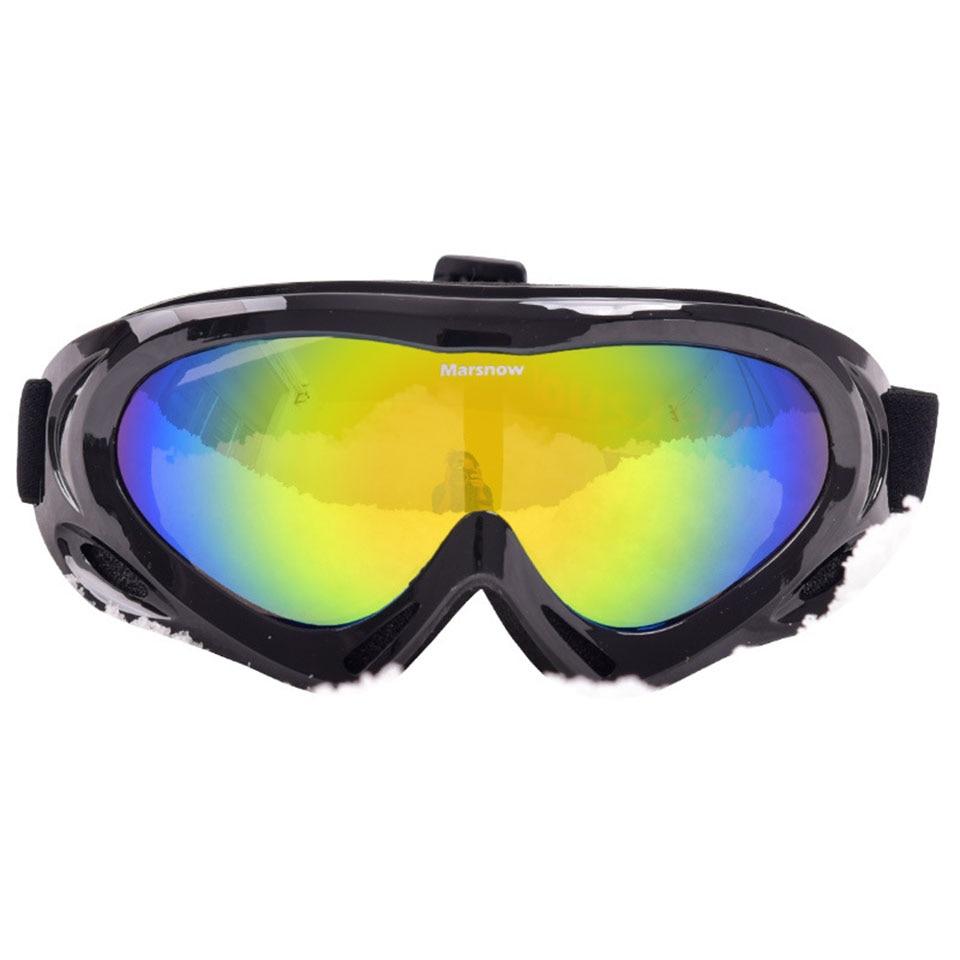 Marsnow лыжные очки снег Велоспорт очки ветрозащитный Анти-туман Лыжный Спорт Солнцезащитные очки для женщин UV400 защита Спорт на открытом возд...