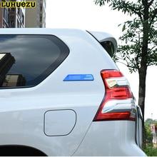 Luhuezu  Sport Marks Letter Emblem Side Marks For Toyota Land Cruiser Prado FJ150 LC120 Accessories 2003-2017
