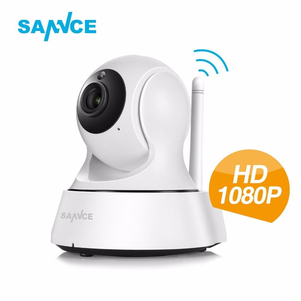 SANNCE 1080 P Full HD Wireless IP Camera 2.0MP CCTV WiFi Telecamera di Sicurezza di Sorveglianza Home Baby Monitor 1080 P Webcam