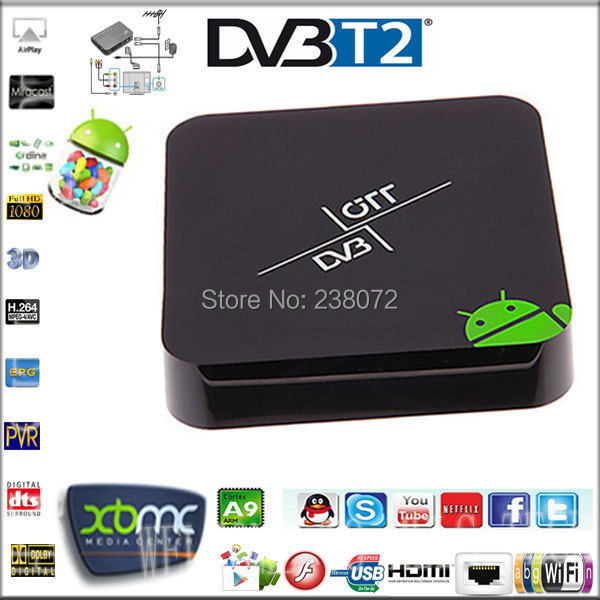 android tv box dvb t2 receiver 3d smart tv set top box dvb t2 tuner with multi plp aml8726 mx. Black Bedroom Furniture Sets. Home Design Ideas
