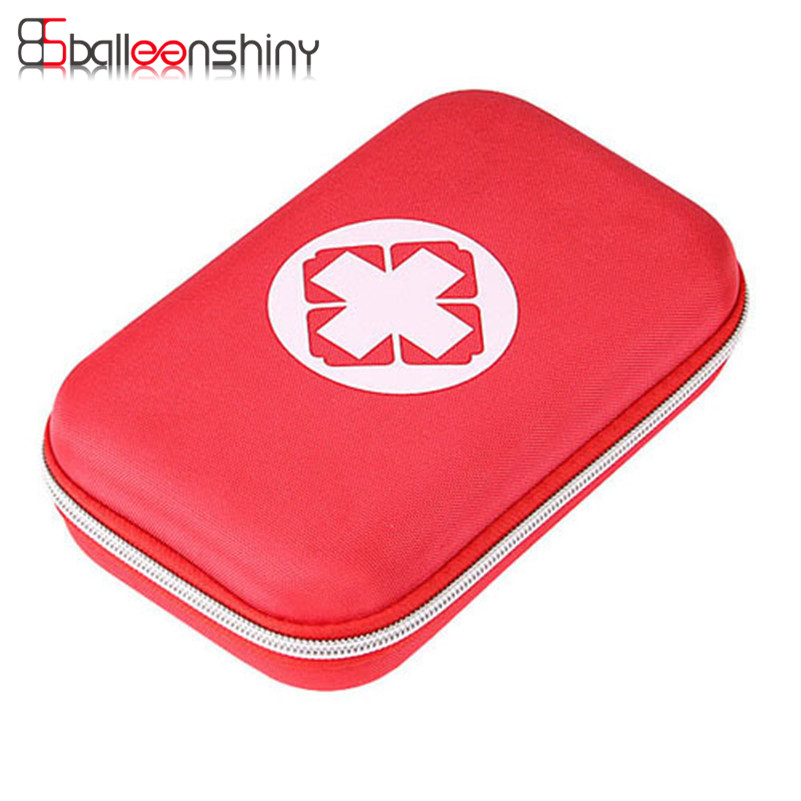 BalleenShiny Beg Penyimpanan Perubatan Portable First aid Emergency Medical Kit Survival Bag Travel Outdoor Camping Home Organizer