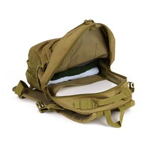 Image 5 - Waterproof 25L Molle Tactical Bag Mens Military Rucksack Nylon Climbing Bag Fishing Hiking Hunting Backpack For 14 Laptop