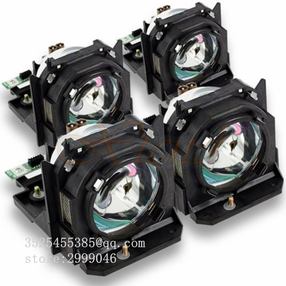 Panasonic ET-LAD10000F Original Replacement Lamp for the Panasonic PT-D10000, PT-DW10000, and other Projectors - 4pcs panasonic et lad12kf replacement lamp for the panasonic pt d12000 pt d12000u pt dw100 pt dw100u pt dz12000u projectors 4 pack
