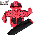 Hot Sell Baby Girls Clothing Sets Cartoon Minnie Mouse Cotton Casual Tracksuits Kids Clothes Sports Suit Winter Children's Hoody