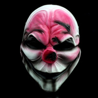 H&D High Quality Collection Version Harvest Day COS Hoxton Payday 2 Masks Halloween Horror Scary Resin Masks