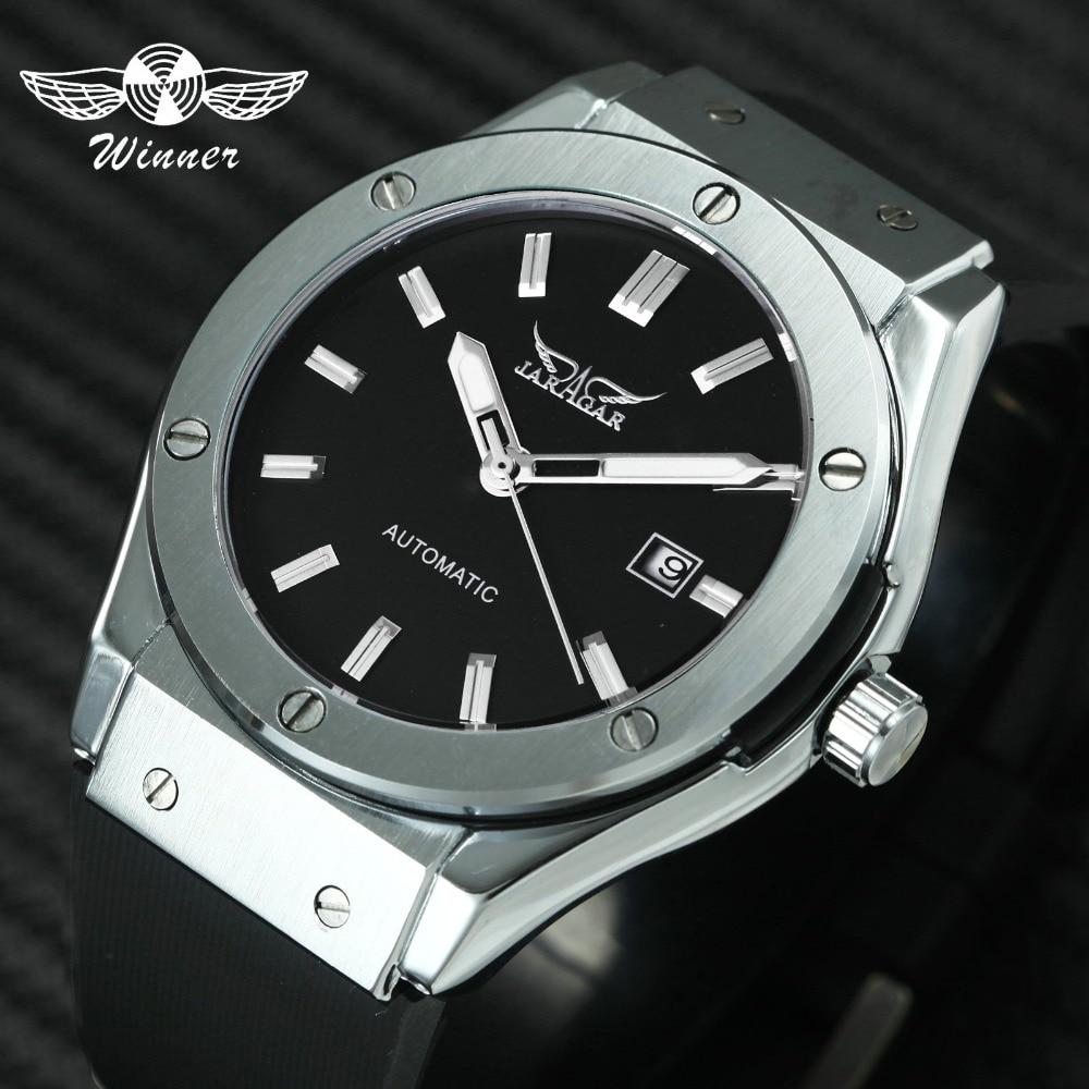 JARAGAR Relojes deportivos para hombres Reloj mecánico automático - Relojes para hombres