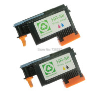 2Sets 88 Printhead For Hp88 Print Head For Hp Officejet Pro K550 K5400dn K8600 L7480 L7580