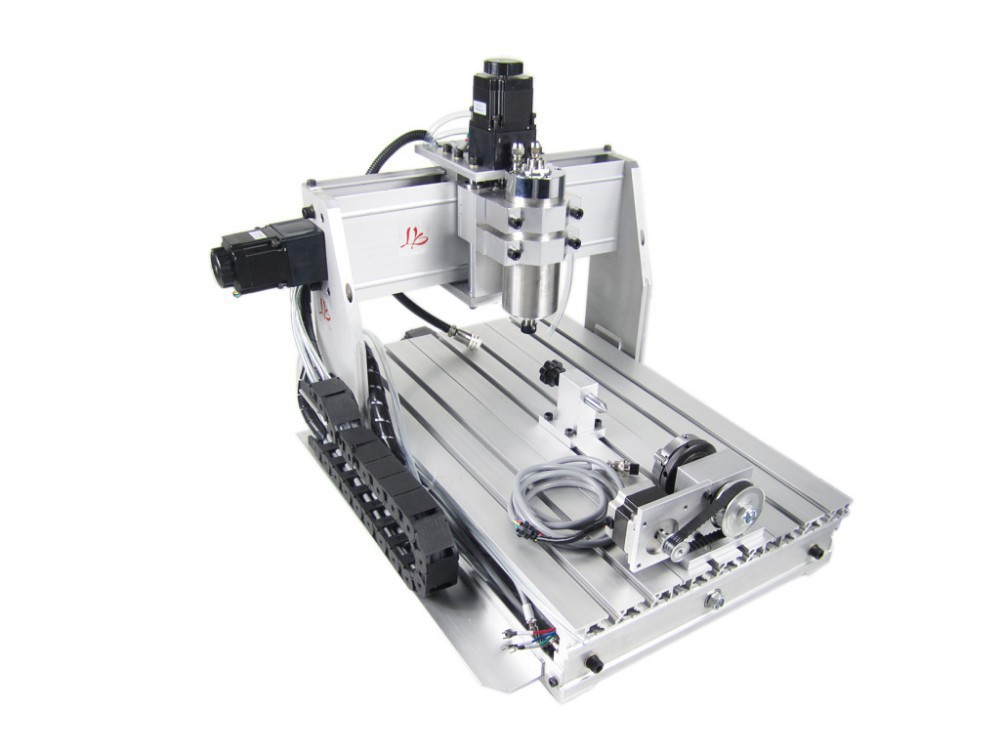 Free shipping! cnc router metal cutting machine CNC 3040 Z-S 4 Axis,800w water cooled spindle , 3d cnc stone sculpture machine ranenye v nikolaevke 04 07 2014