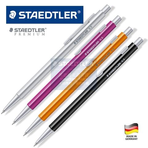 staedtler premium 0 5 0 7 milimetros triangulo caneta vara de metal cheia lapiseira 1