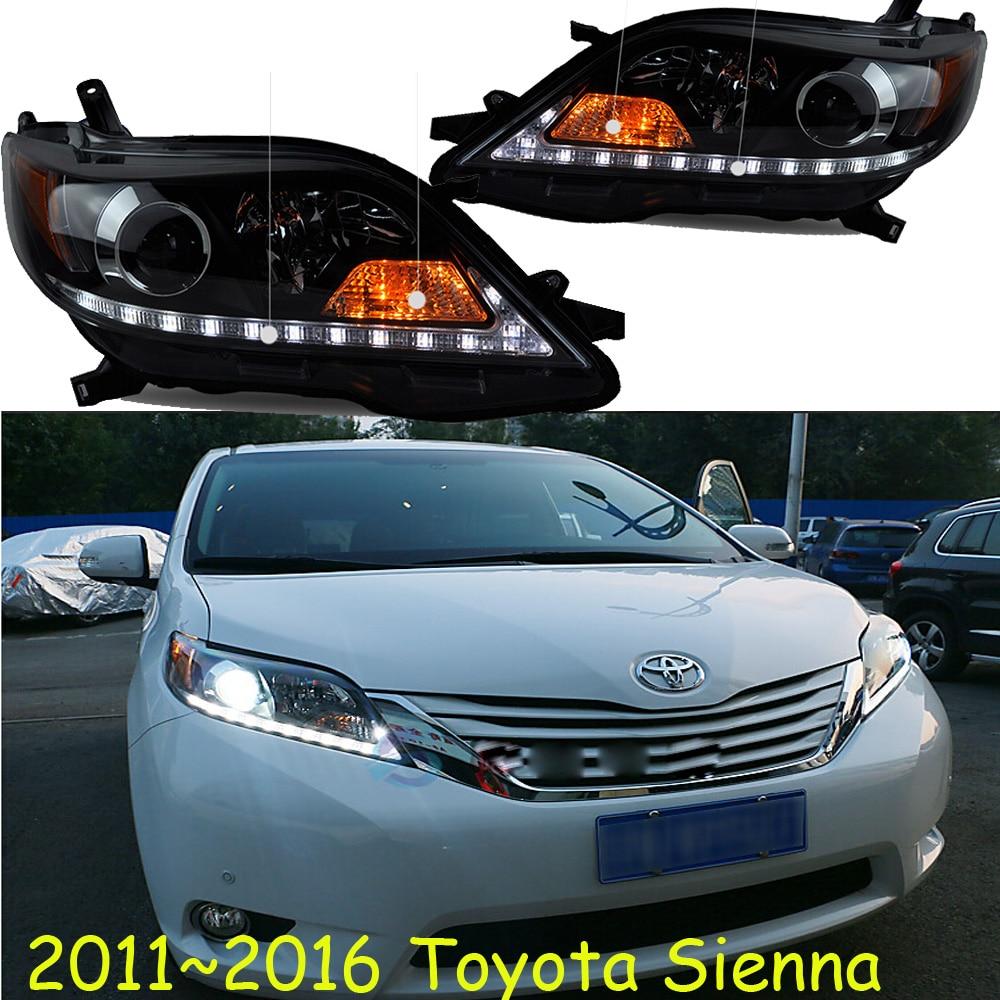 Sienna headlight,2011~2016,Free ship! Sienna fog light,camry,vios,yaris,corolla,Sienna head light roomble dc sienna