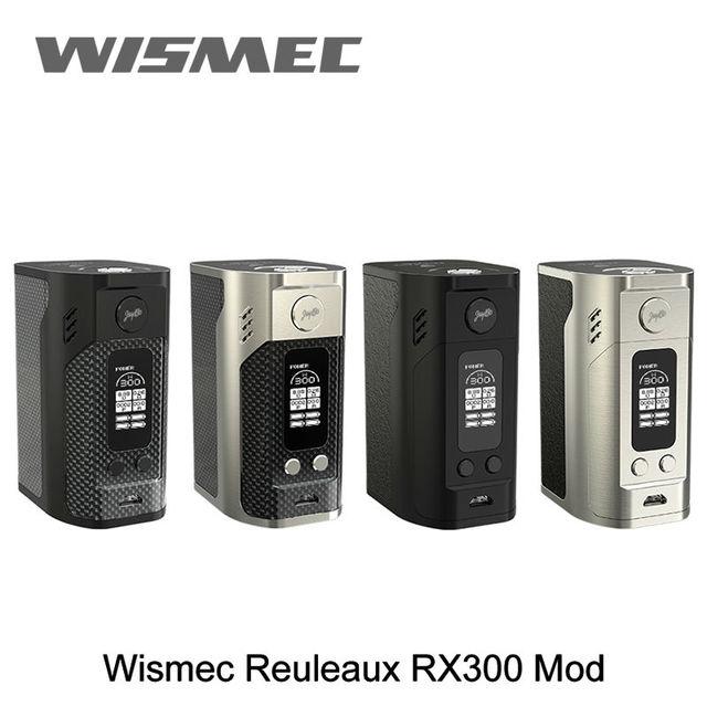 100% Оригинал Новый WISMEC Reuleaux RX300 ТС Мод 300 Вт wismec rx300 Окно Мод VW/TC Режимы Электронная Сигарета Mod