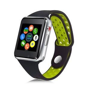 Image 1 - Bluetooth Smart часы M3 с Камера Facebook Whatsapp Twitter Синхронизация SMS Smartwatch Поддержка SIM карты памяти для IOS Android