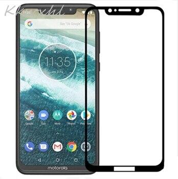 Перейти на Алиэкспресс и купить 9H полное закаленное стекло для Motorola Moto G7 Play Plus Power Z4 One Vision P30 Note Защитная пленка для экрана