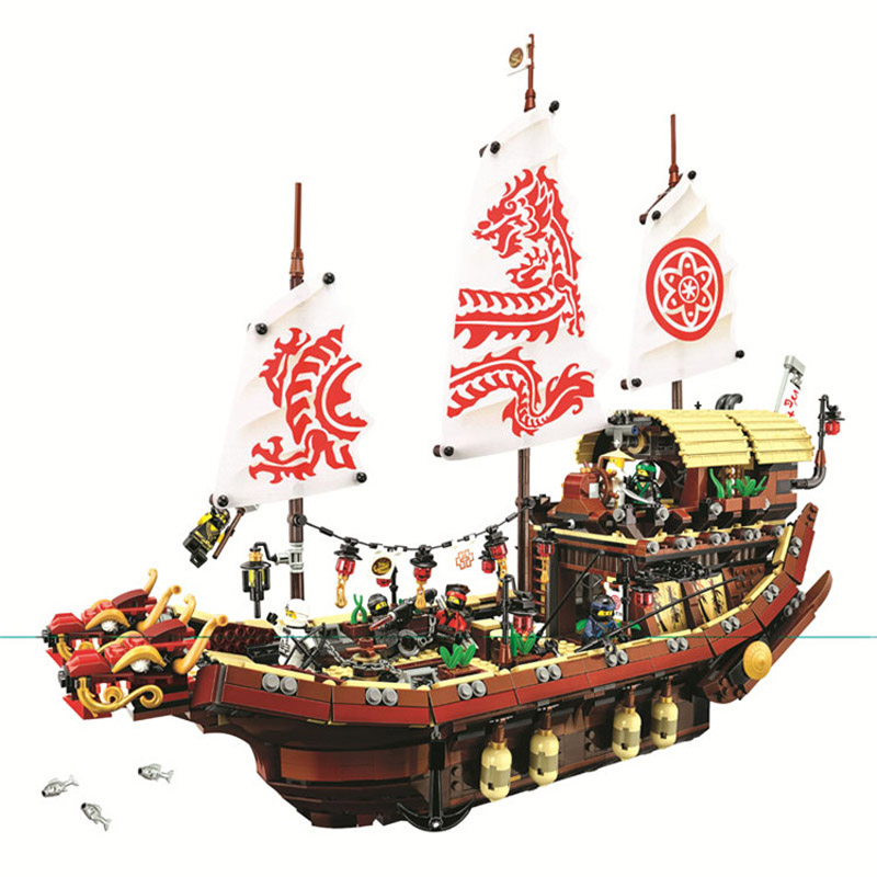 Ninjagoe Final Fight Destinys Bounty Building Blocks Bricks Compatible With Legoe Toys Good Companions For Children As Well As Adults Toys & Hobbies Reasonable Gifts Pogo Bela 10723 2363pcs