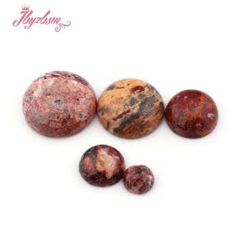 2d3b9961730e Oval Coin jaspe CAB Cabochon Flatback cúpula Undrilled Piedra Natural  perlas para DIY Pandandt pendiente anillo joyería 5 Unid