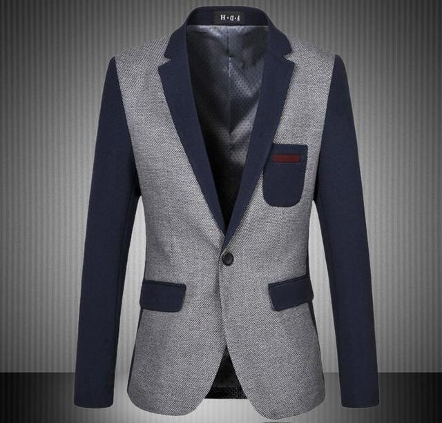 2016 novo estilo verão alta qualidade Fashion Men Suit marca jaqueta dos homens Blazer negócios magro roupas Suit vendidos tamanho M-6XL