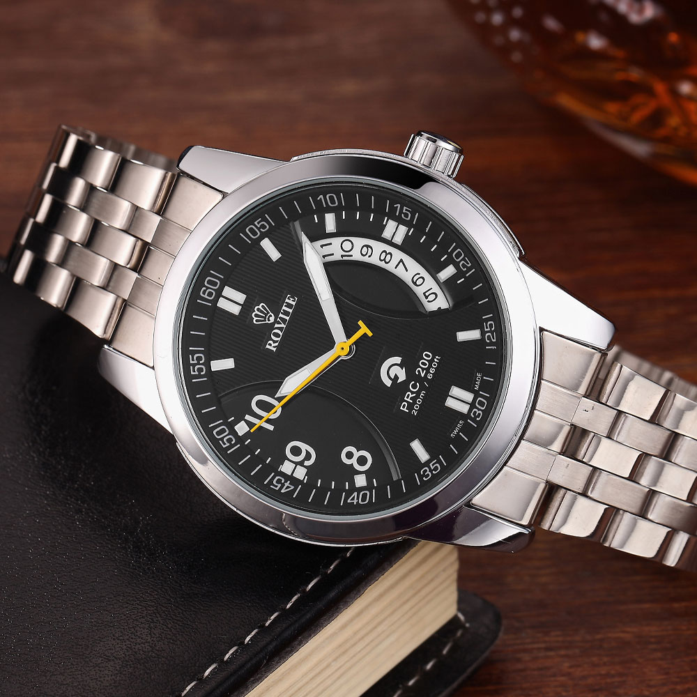Zegarek męski Zegarki mechaniczne Zapięcie ze stali nierdzewnej - Męskie zegarki - Zdjęcie 3
