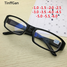 TinffGan finished myopia eyeglasses men women prescription g