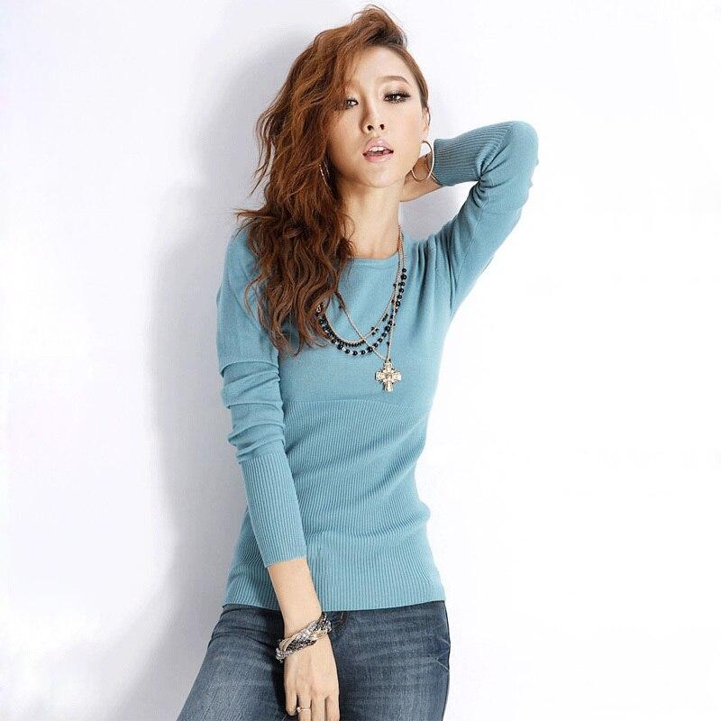 Sweater Women High Quality Women Jumper O neck Long Sleeve ...