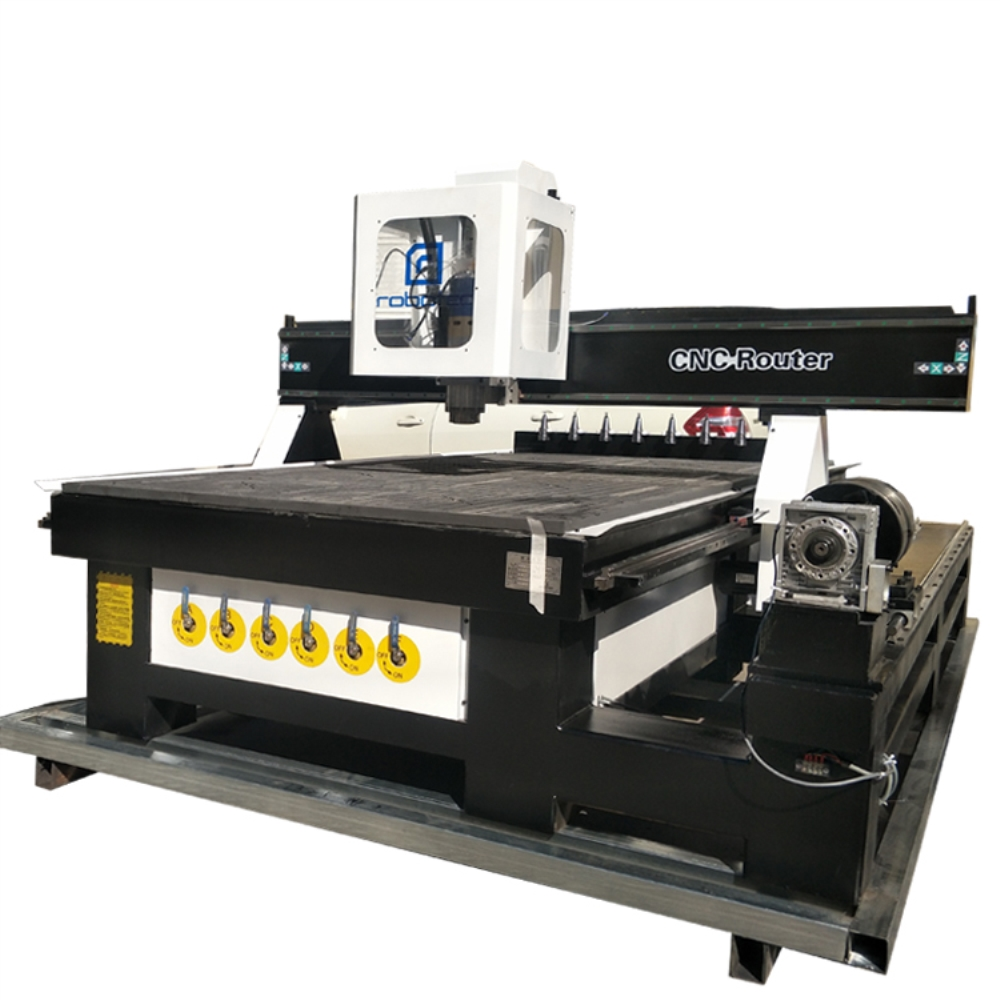 Top Sale Tool Changer 4 Axis CNC Machine Price/Wood Carving CNC Router 1325/1530/2030 With Rotary CNC Engraver