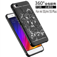 Luxury Case For Xiaomi Mi 5S 5 S Mi5S High Quality Silicone Hard Protective Back Cover