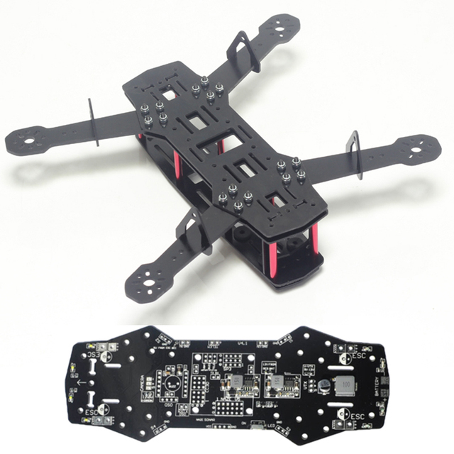 ZMR250 Quad Frame Pure Carbon Drone Mini 250 FPV UAV Airframe Glass ...