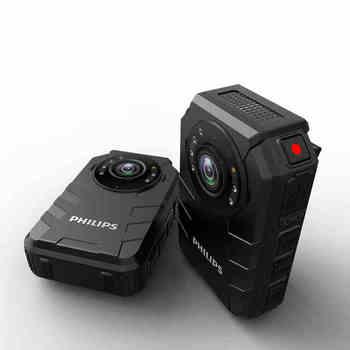 Philips WIFI 4G Police Body Worn Camera IP68 Waterproof GPS Beidou BT4.0 Andriod System OV4689