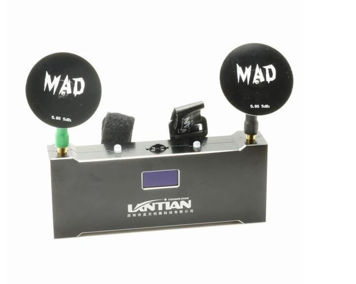 Lantian 5.8G 40CH Race Band Dual Way External Receiver Module with DVR for FPV Racing Drone