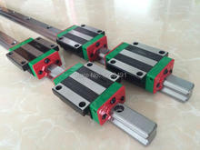 1 шт. SFU1605-1500 мм Швп с ballnut (BK12/BF12 стандартная обработка) + BK12/BF12 + 2 шт. HGR30-1400 мм длина + 4 шт. HGW30CA