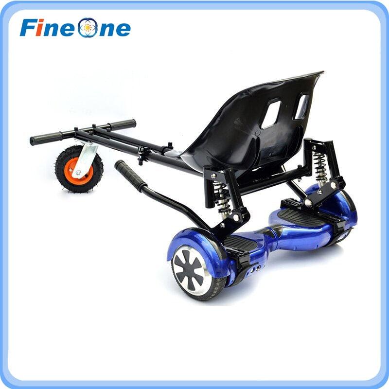 Electric Go Kart Hoverboard Seats Hoverkart with Damper Karting Karts Frame Balance Scooter Seat Karting Frame Skateboard Frame