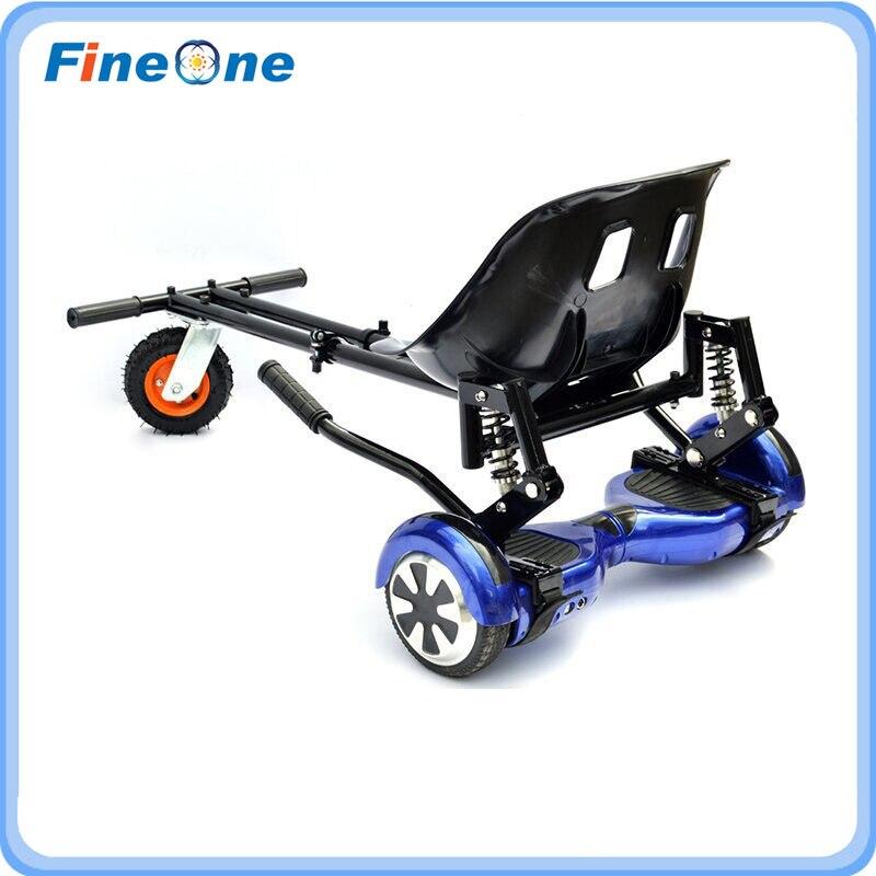 Go Kart sièges Hoverboard sièges Hoverkart avec amortisseur Karts cadre Karting sièges Skateboard cadre pour Scooter électrique d'équilibre