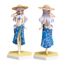 ZXZ Yoake mae yori ruriiro na  Sexy bikini Feena Fam Earthlight Anime PVC figure Toys Action Figure  WAVE Toys gifts