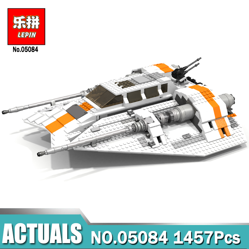 New Lepin 05084 1457Pcs Star Wars UCS Rebel Snowspeeder Model Building Kits Blocks Bricks For Compatible Legoing 10129 Brick Toy lepin 05060 star series wars ucs naboo star type fighter aircraft model building blocks bricks compatible legoed 10026 toy gifts