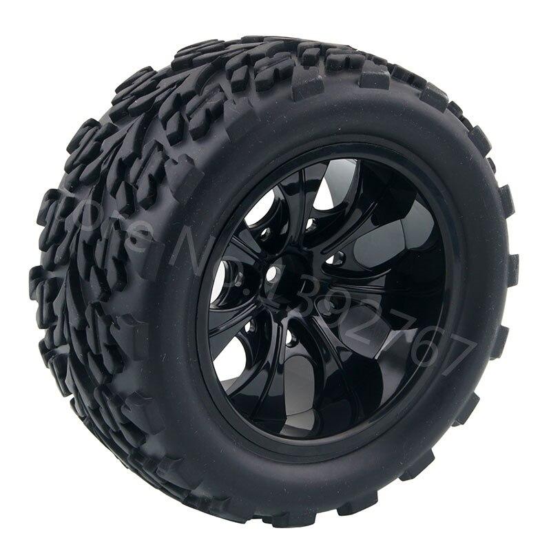 4piece lot rc car rubber sponge tires tyre rim wheel for rc 1 10 scale models racing rc car hsp. Black Bedroom Furniture Sets. Home Design Ideas