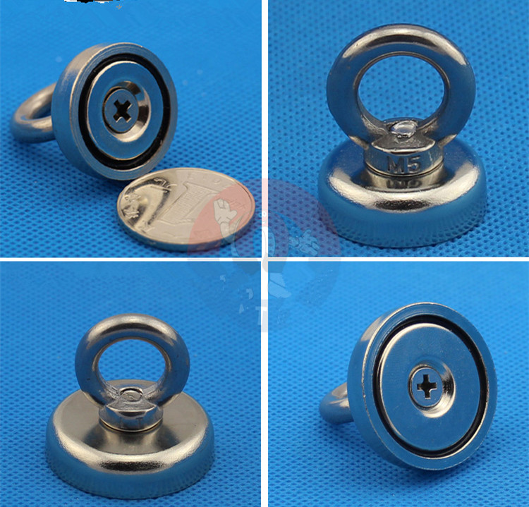 1pcs Neodymium magnet super strong round rare earth magnetic gallium metal powerful permanent welding search