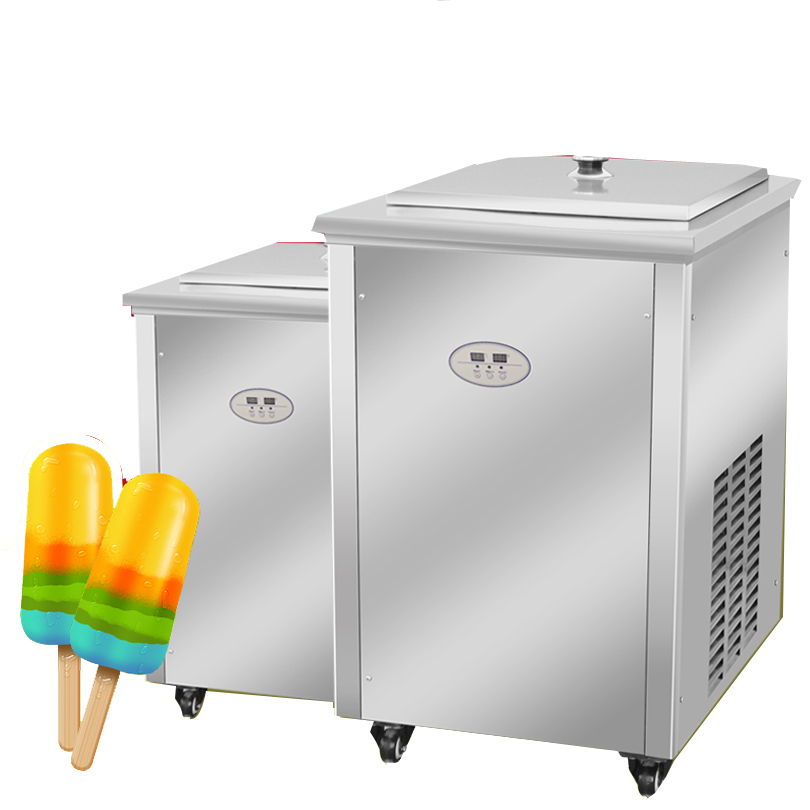 Commercial Stainless Steel Popsicle Mold Stick Ice Cream Bar Ice Pop Making Machine Ice Lolly Popsicle Machine for sale ice cream silica gel mold