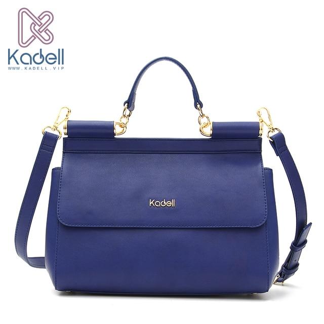 Kadell женская обувь из искусственной кожи сумки модные бренды дамы кроссбоди мешок клапаном кошельки и Сумки синий