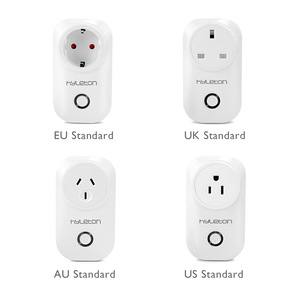 Hyleton wifi socket mini protable plug remote control 10A fast charger Support 2.4GHz Wifi Networks Electrical Power Switch