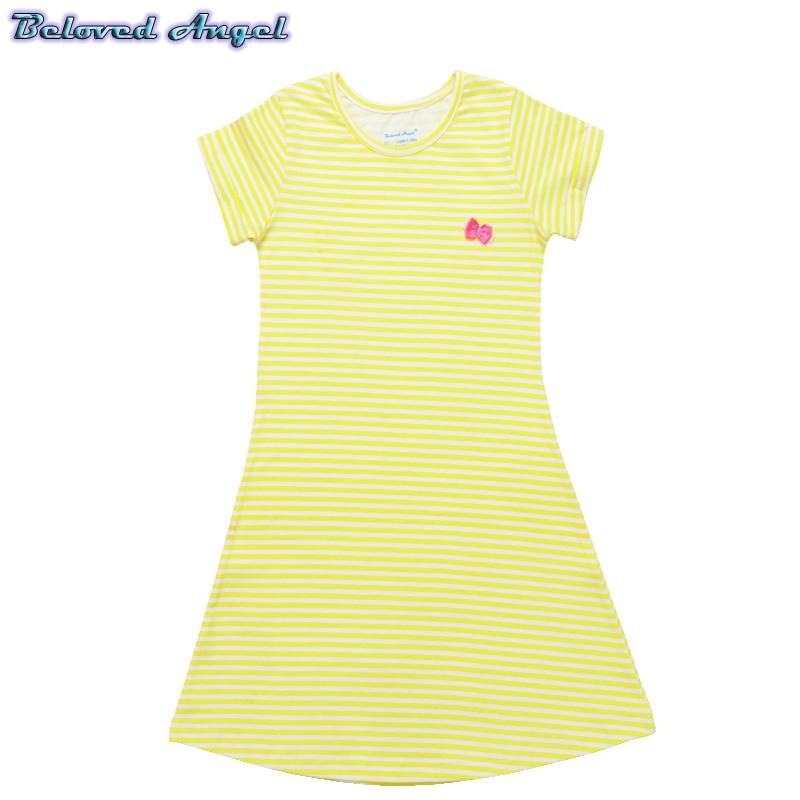Toddler Girls Dress 2019 Kids Summer Dresses for Girls Clothes 100%Cotton Children Tunic Jersey Princess Dress for Party Wedding 3