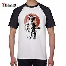 Men Women T Shirts Fashion White Casual Dragon Ball Z Cartoon 3D Anime Tee Tops Unisex Streetwear dragon ball t shirt