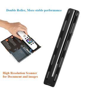 Image 5 - Iscan02 Draagbare Handheld Digitale Draadloze Wifi 1050 Dpi Lcd Office Scanner Document Foto Jpg Pdf Ontvangsten A4 Mini Handige Scanner