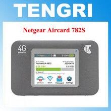 Разблокирована Netgear Aircard 782S AC782S 4G Мобильная точка доступа CAT4 Wi-Fi маршрутизатор 4 аппарат не привязан к оператору сотовой связи band 1/3/7/8(900/1800/2100/2600 МГц