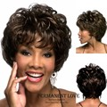 Natural black afro kinky curly short Wig discount wigs 2015 Heat Resistant synthetic hair wigs for Black Women Wigs Peruca Preta