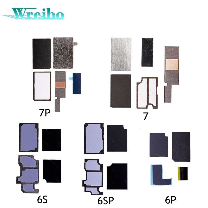 imágenes para Wrcibo 7 P motherboard Etiqueta Engomada antiestática Disipador de Calor pegatina para el iphone 6 6 S 7 más Placa Lógica disipación de calor de refrigeración