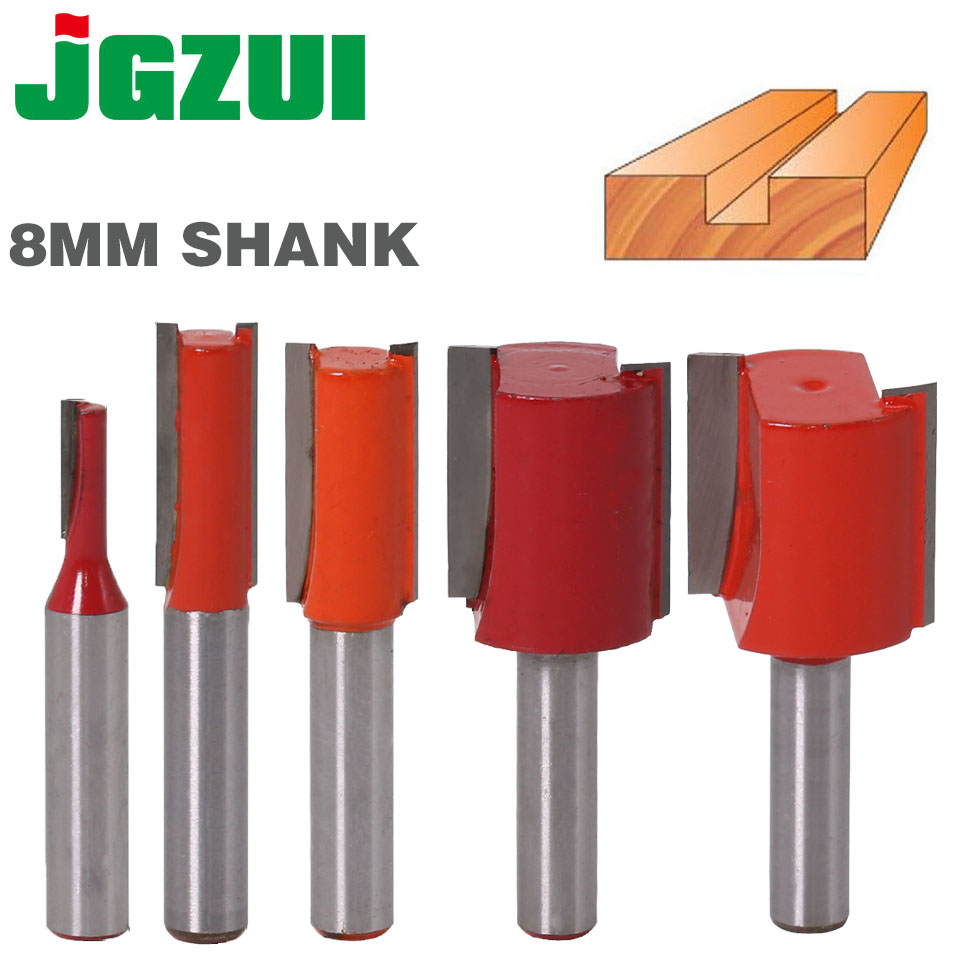 "Dado Router Bit - 3/4""W X 25mm""H - 8 Shank Woodworking Cutter Wood Cutting Tool"