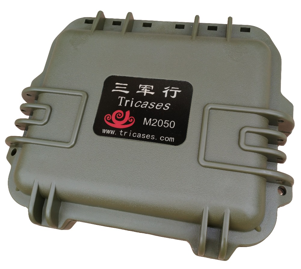New arrived! Tricases factory IP67 waterproof PP hard plastic small equipment cases with handle M2050 цены онлайн