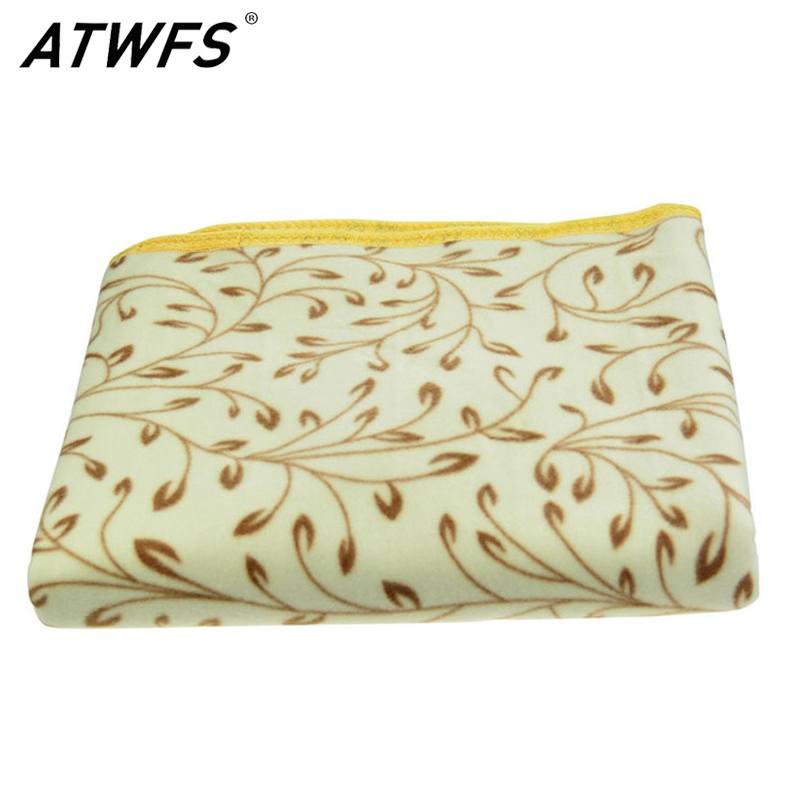ATWFS 150*70cm Plush Electric Blanket Automatic Protection Type Thickening Single Electric Blanket Body Warmer Heated Blanket